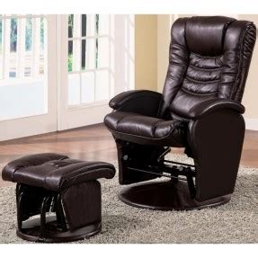 leather recliners for small spaces leather reclining chair and ottoman foter