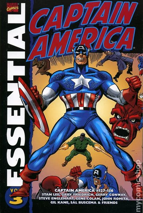 the book of captain america multilingual edition books essential captain america tpb 2001 marvel 1st edition