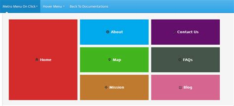 bootstrap layout side menu bootstrap plus plus by getredhawkstudio codecanyon