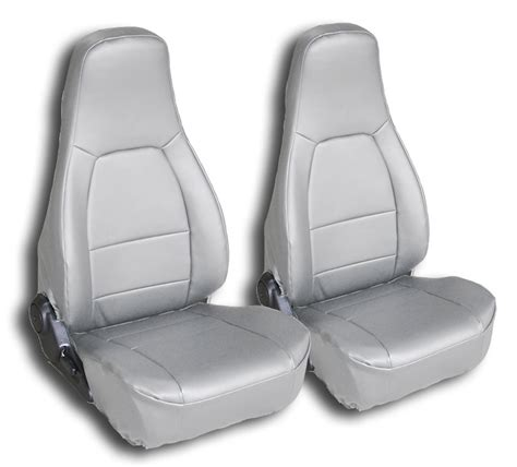 mazda seat covers mazda miata 1990 2000 grey iggee s leather custom fit