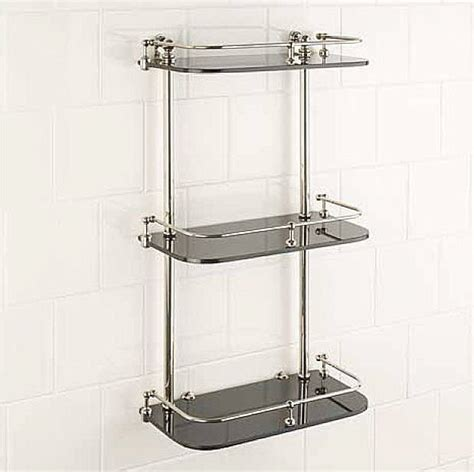 Shower Racks by Bathroom Shelves