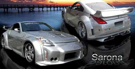 custom nissan 350z body kits custom 2003 350z kit 102 11 coupe body kit 2003 2008