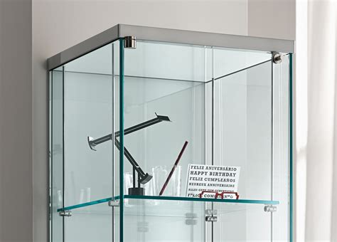 tonelli broadway  glass cabinet glass furniture