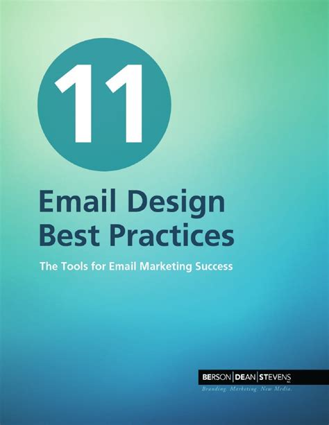 email layout best practices 11 email design best practices
