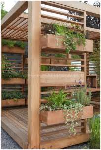 Vertical Garden Planter Boxes Source Susan Cohan Gardens