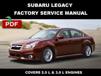 service manual 2010 subaru legacy manual subaru legacy outback 2010 2012 repair service 2010 2011 2012 2013 2014 subaru legacy factory service repair workshop manual subaru