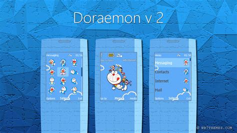 doraemon themes for nokia e5 doraemon theme s40 240x320