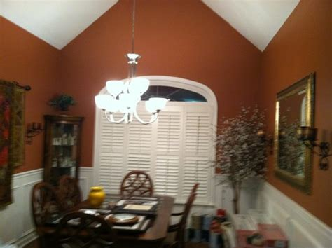 Chair Rail Dining Room by Vaulted Ceiling In Dining Room Needs Help