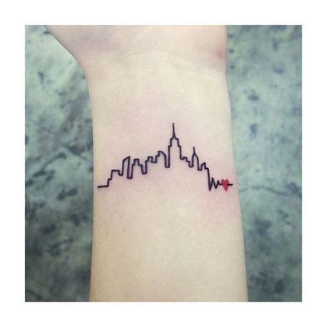 new york skyline tattoo best 25 nyc ideas on skyline