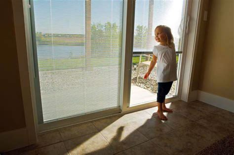Patio Sliding Doors With Blinds Sliding Glass Doors With Built In Blinds