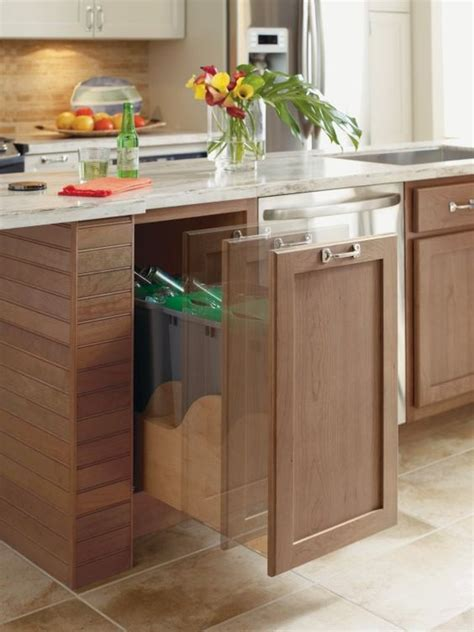 Kitchen Cabinet Electronics The Omega Cabinetry Electronic Assisted Free Trash