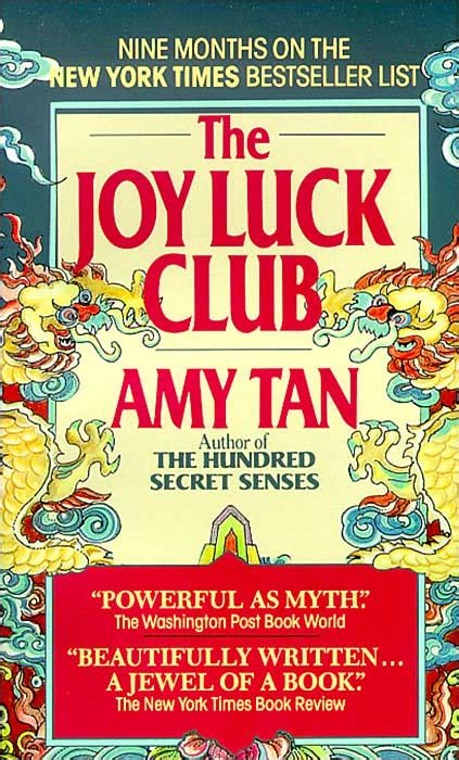 the joy luck club review the joy luck club by amy tan chronicled efforts