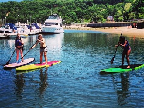Snow Shed Port Jeff by Stand Up Paddle Boarding Comes To Port Jefferson Harbor