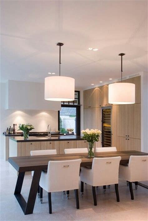 Kitchen And Dining Room Lighting Best 25 Modern Kitchen Tables Ideas On Modern Table And Chairs Modern Dining Room