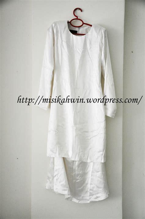 Baju Melayu Nikah Putih baju kahwin misi kahwin