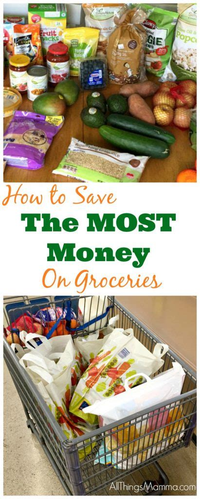 save   money  groceries   mamma