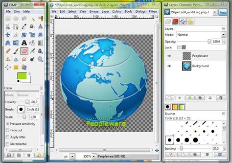 imagenes vectoriales gimp gimp portable 2 6 5 descargar gratis
