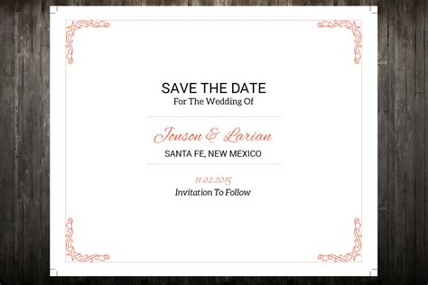 sale save the date template wedding save the date postcard