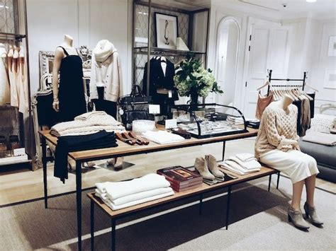 display tables for boutique 25 best ideas about fashion shop interior on