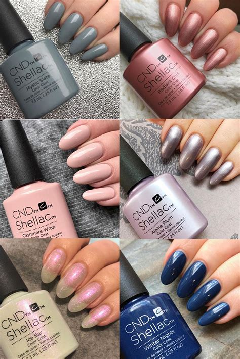 shellac nail colors best 25 shellac colors ideas on cnd shellac