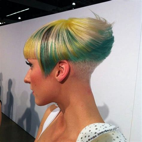 shaved wedge haircuts 17 best images about bobs buzzed back on pinterest bobs