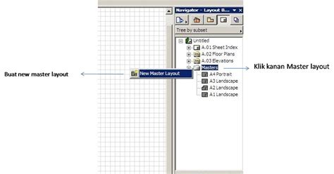 layout na blog settings layout archicad untuk plot gambar part 1