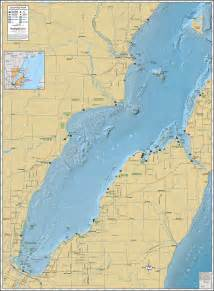 green bay southern wall map