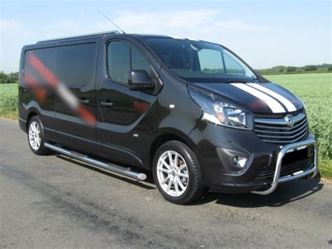 opel vivaro opel vivaro swb side bars 2014 onwards imob auto