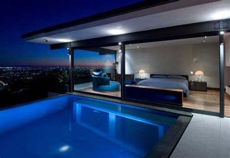 swimming pool bedroom beautiful bedroom design with pool view