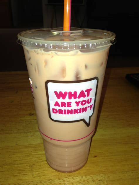 Iced Coffee Dunkin Donuts dunkin donuts iced coffee