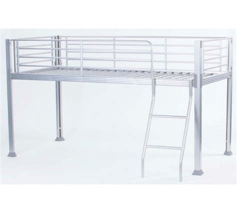 White Metal Mid Sleeper by Buy Home Boltzero Metal Mid Sleeper Bed Frame White At