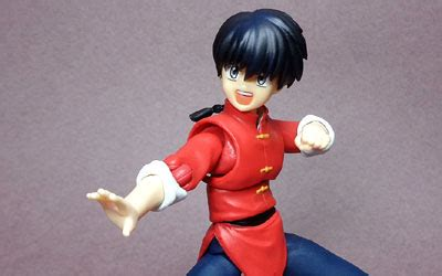 Shf Ranma anime figures brave fortress