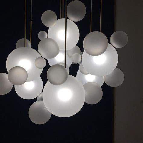 led chandelier beautiful ear shape glass led chandelier light for