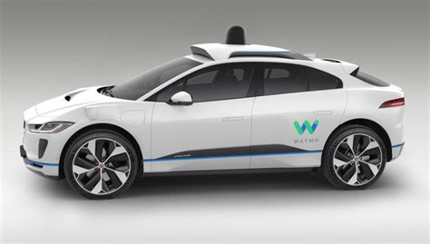 waymo adds  jaguar electric suvs    driving car service inhabitat green
