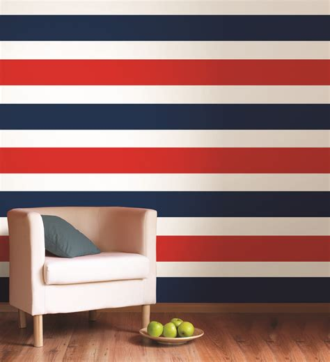 Ways To Rearrange Your Bedroom creating a striped wall poptalk