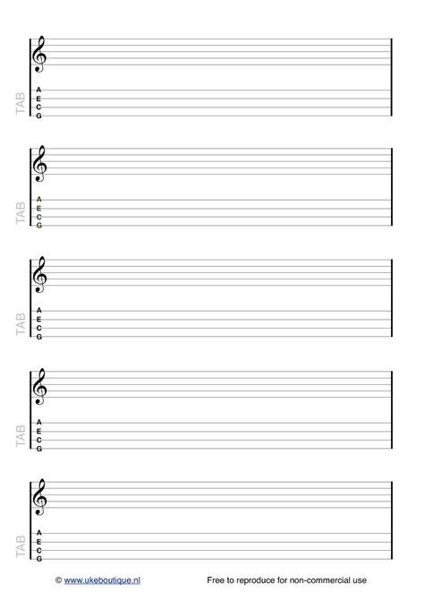 printable ukulele template blank tab staff paper ukulele club amsterdam
