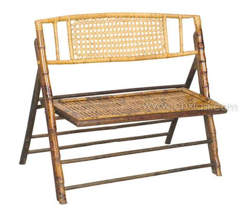 bamboo bench press bamboo folding double bench cane back bamboo furniture
