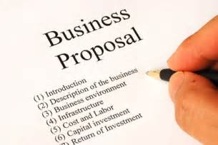 how to write a business proposal abstract