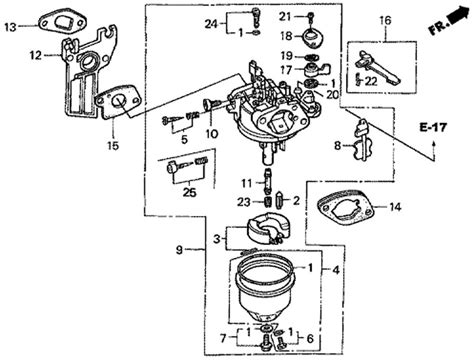 honda gx160 parts diagram honda gx160 carburetor parts diagram car interior design