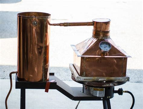 Handmade Copper Still - handmade copper moonshine still conley supply