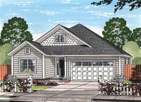 Craftsman Cottage   52246WM   Architectural Designs