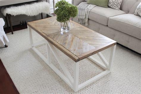 Herringbone Coffee Table Herringbone Coffee Table Buildsomething
