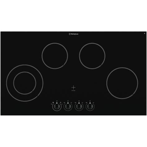 Westinghouse Glass Cooktop westinghouse whc942ba 90cm ceramic cooktop at the guys