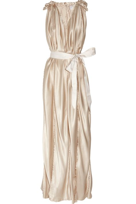 belted silk satin wedding dress chagne bridal gowns