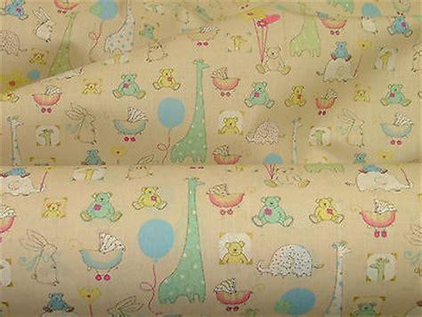 nursery curtain fabric uk babytime beige designer cotton nursery curtain soft