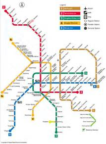 Taipei Metro Map by Mrt Taipei Metro Map Taiwan