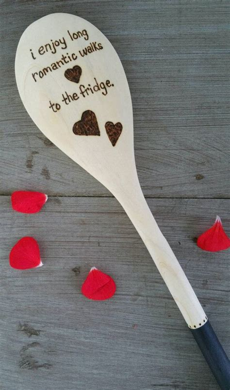 funny food quote spoon wood burned spoons pyrography