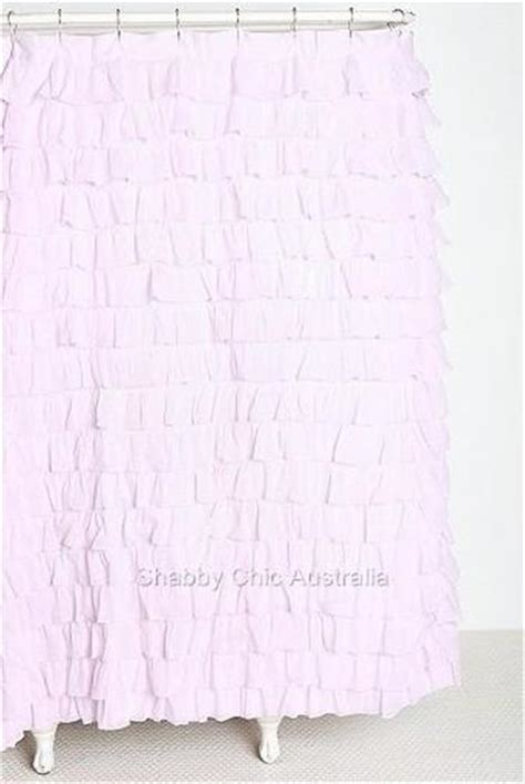 shabby chic shower curtains uk shabby cottage chic dreamy ruffled lilac lavender ruffles