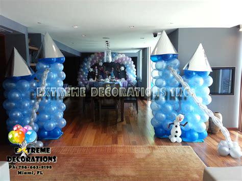 Frozen Decoration by Decorations Miami Frozen Decorations Balloons