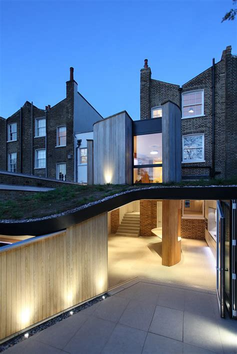 house design in london victorian home in london gets curvaceous bodacious extension modern house designs